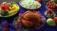 FOOD DINNER 27 Stock Footage
