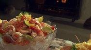 FOOD SHRIMP 03 Stock Footage