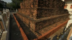 Buddhist temples in Thailand. Stock Footage