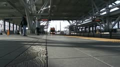 Sound Transit Stop Stock Footage