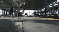 Sound Transit Stop Stock Footage