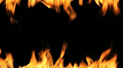 fire flames - stock footage