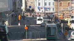 Big liikenteen katu Helsinki, Suomi Arkistovideo