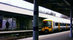 South Eastern Train Stock Footage