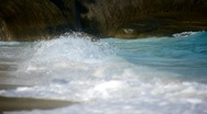 Rock and waves 12 Stock Footage