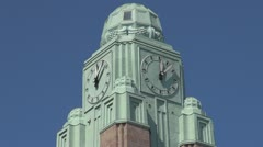 Timelapse of beautiful city clock Stock Footage