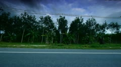 Thailand roads 21 Stock Footage