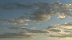 Afternoon clouds Stock Footage