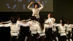 Jewish folklore dance Stock Footage