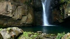 Yuentan Waterfall, Taiwan Stock Footage