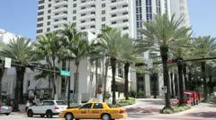 Loews Hotel Miami Beach Stock Footage