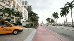 Grand Beach Hotel at Miami Beach, FL USA Stock Footage