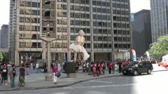 CHICAGO-0452 - stock footage