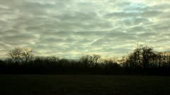 Field Sunset Timelapse - stock footage