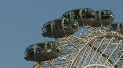 The London Eye Stock Footage