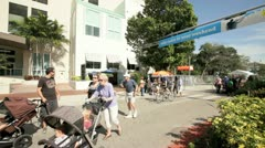 Stock Video Footage of Coconut Grove Art Festival 2012