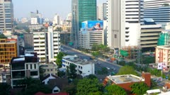 Bangkok City View Stock Footage