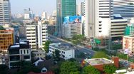 Stock Video Footage of Bangkok City View