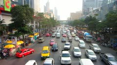 Bangkok Traffic Stock Footage