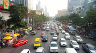 Stock Video Footage of Bangkok Traffic