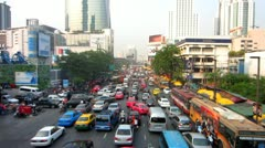 Bangkok Traffic 2 Stock Footage