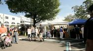 Video of the Coconut Grove Arts Festival Stock Footage