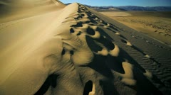 Sand Dunes Waterless Environment Stock Footage