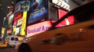 Stock Video Footage of NYC nightlife timelapse collection1