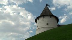 Tower of the Kazan Kremlin Stock Footage