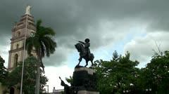 Plaza de Armas, Cuba Stock Footage