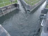 Stock Video Footage of water flow cleaning basin