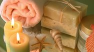 Spa accessories Stock Footage