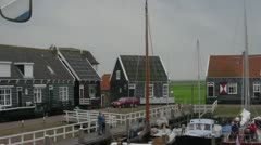 Sailing to Marken Stock Footage