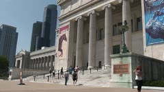 CHICAGO-0575 FIELD MUSEUM TIMELAPSE Stock Footage