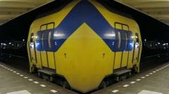 Mirror Train Stock Footage