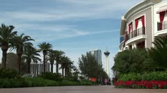 The northern part of Las Vegas Boulevard Stock Footage