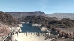 Hoover dam. Arizona / Nevada, USA Stock Footage