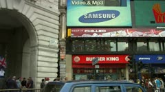 Piccadilly Circus Stock Footage