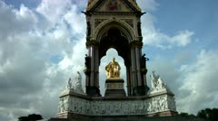 Royal Albert Hall Memorial Stock Footage
