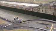 Stock Video Footage of Panama Canal Mule