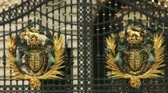 Buckingham Palace, London Stock Footage