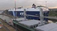 Stock Video Footage of Panama Locks 2