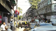 Stock Video Footage of Indian city streets
