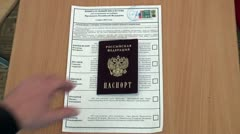 Stock Video Footage of The Elections Of The President Of Russia