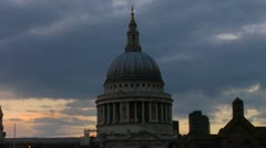 St. Paul's Cathedral Stock Footage