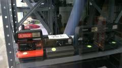 Polaroid cameras Stock Footage