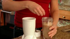 Stock Video Footage of PROTEIN SHAKE_02
