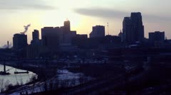 St Paul Time Lapse - stock footage