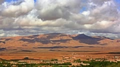 Rose valley Morocco Stock Footage