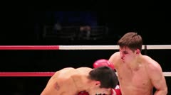Boxing, Russia vs Argentina Stock Footage